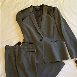Alex Marie grey flannel pant suit
